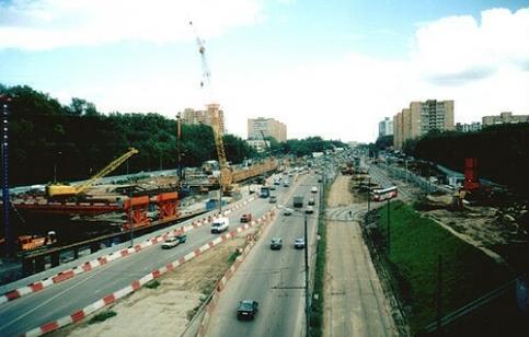 Волоколамское шоссе. 2000 год.