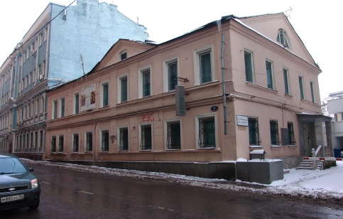 Дом Евпла по адресу: Милютинском пер., 4