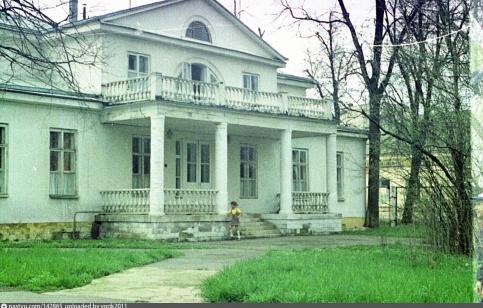 Зимний дом усадьбы Петрово-Дальнее