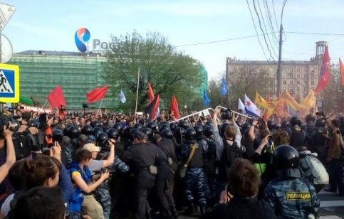 """""""Марш миллионов"""", 6 мая 2012 года."""