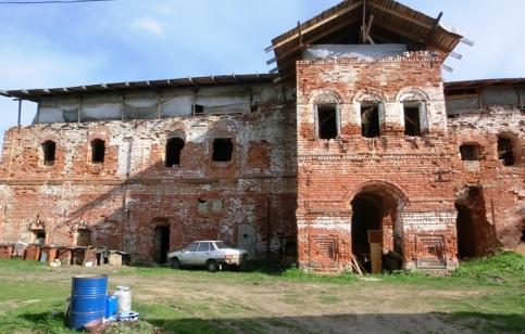 Белогостицкий монастырь, осень 2016 года