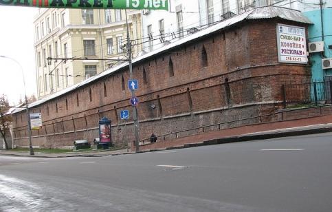 Фото: Википедия/Китайгородская стена