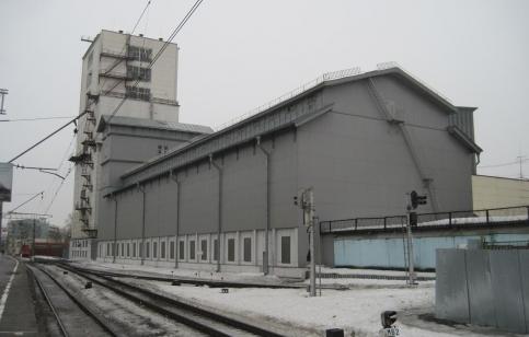Элеватор на Павелецком вокзале до сноса. Фото: Архнадзор