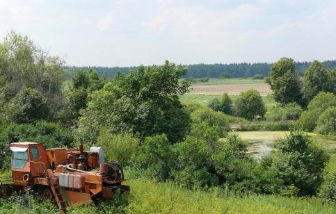 Захват земли в Урочище Введенское-Борисовка под Троицком