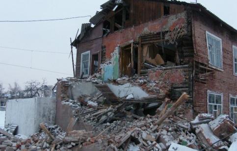 "Снос здания 1901 года постройки на станции ""Подмосковная"""
