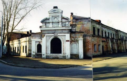Здание бань Курбатова и Русанова, Иркутск