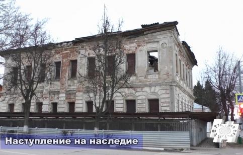 """Кадр программы """"Наступление на наследие"""": Зарайск"""