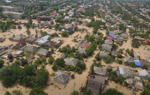 Наводнение в Краснодарском крае. 2012 год.