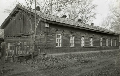 Дом на ул. Свободы, 8 в Челябинске. 1906 год.