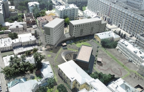 Проект реконструкции зданий квартала №37