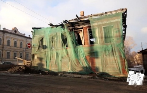 """Кадр из анонса программы """"Наступление на наследие"""" про Вологду"""